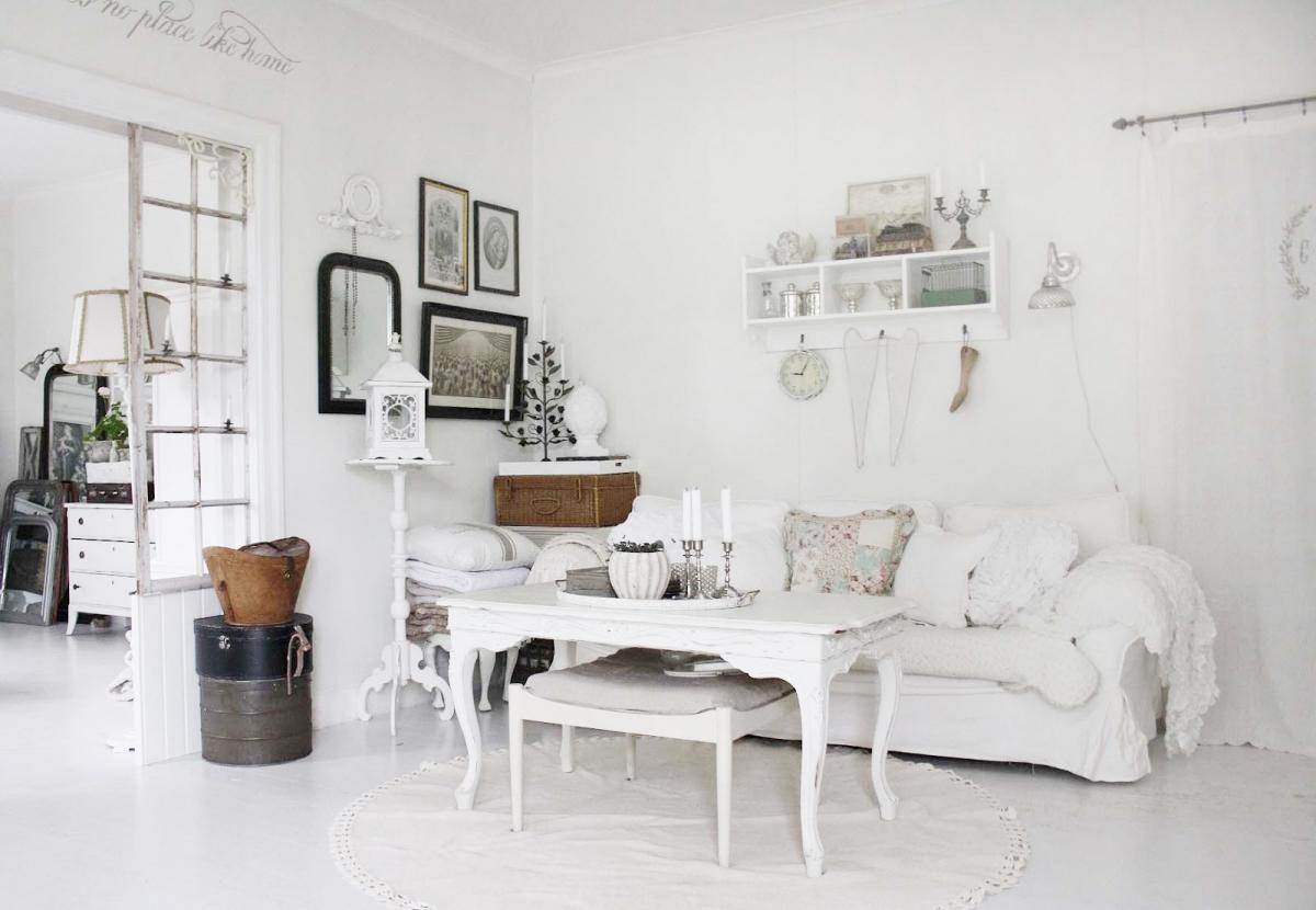 Красивый декор для создания интерьера в стиле шебби-шик