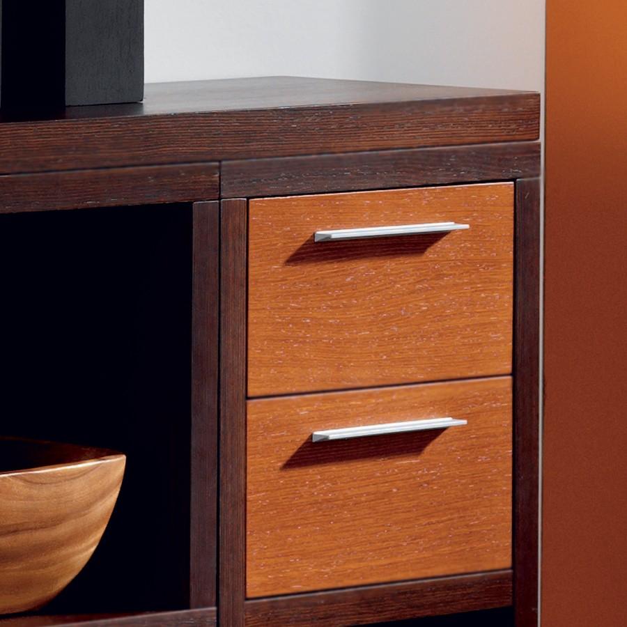 Шпонированная мебель венге