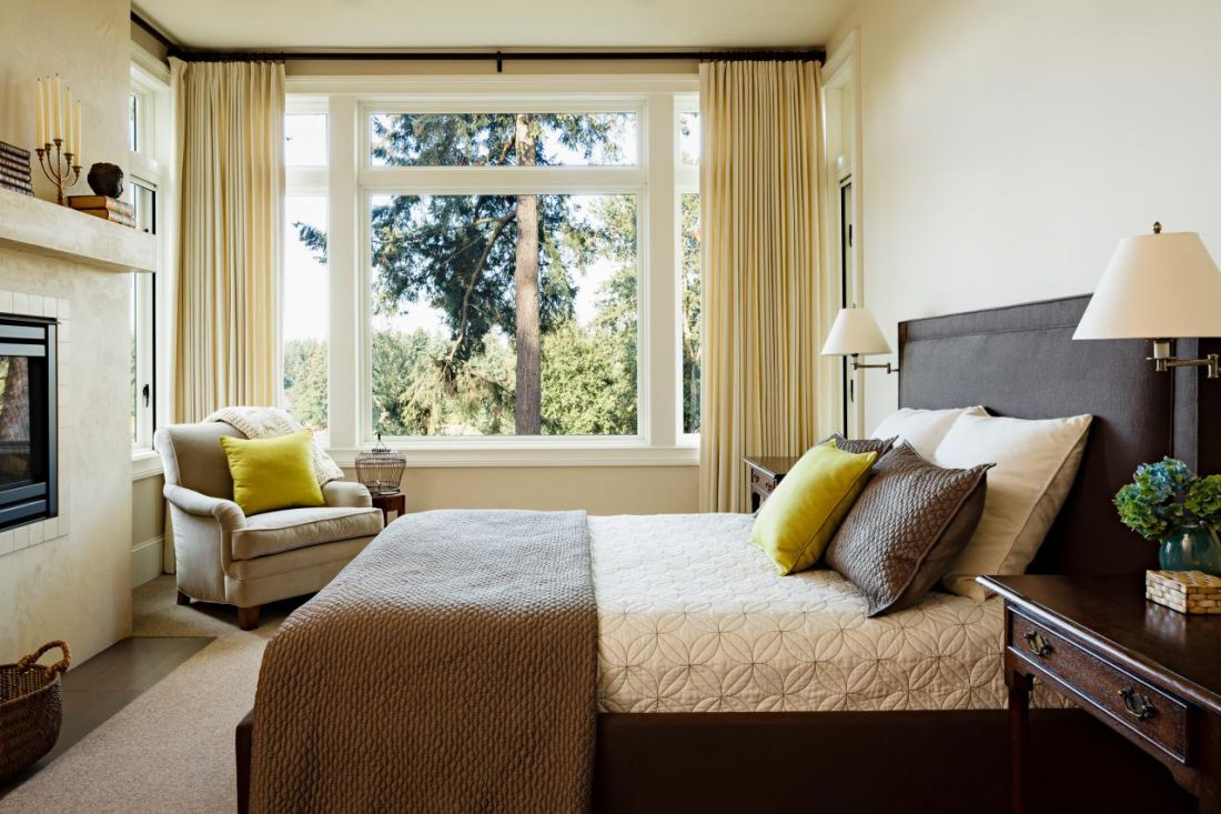Расположение мебели в спальне по фэн-шуй
