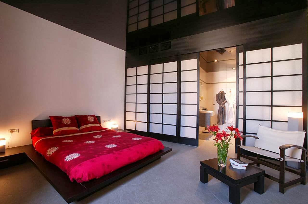 Спальня в японском стиле по фэн-шуй