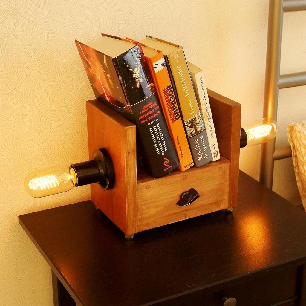 Подставка под книги в стиле стимпанк