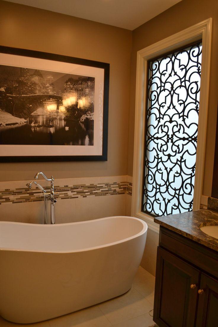 Решетка на окно в ванной