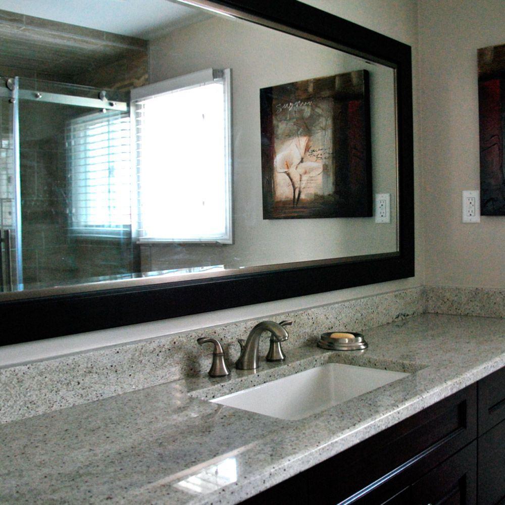 Гранитная столешница в ванной