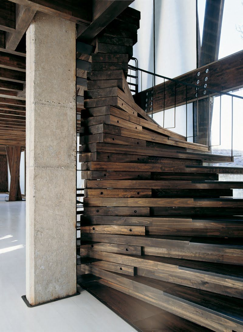 Винтовая лестница в стиле лофт