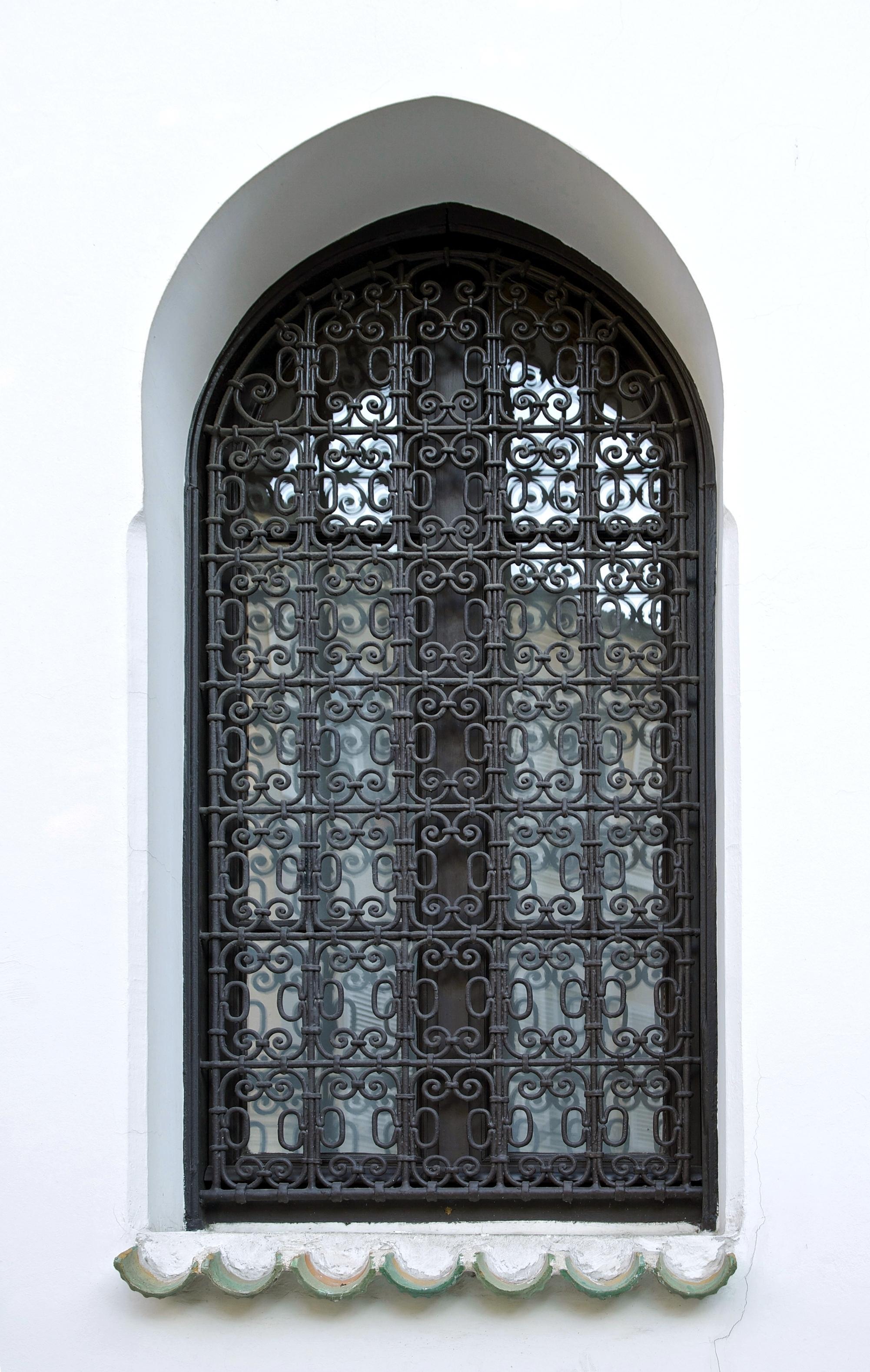 Решетка на окно в восточном стиле