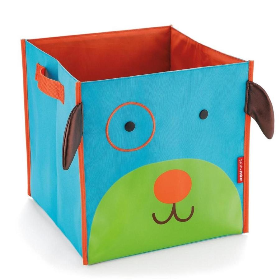 Тканевый ящик для хранения в детской