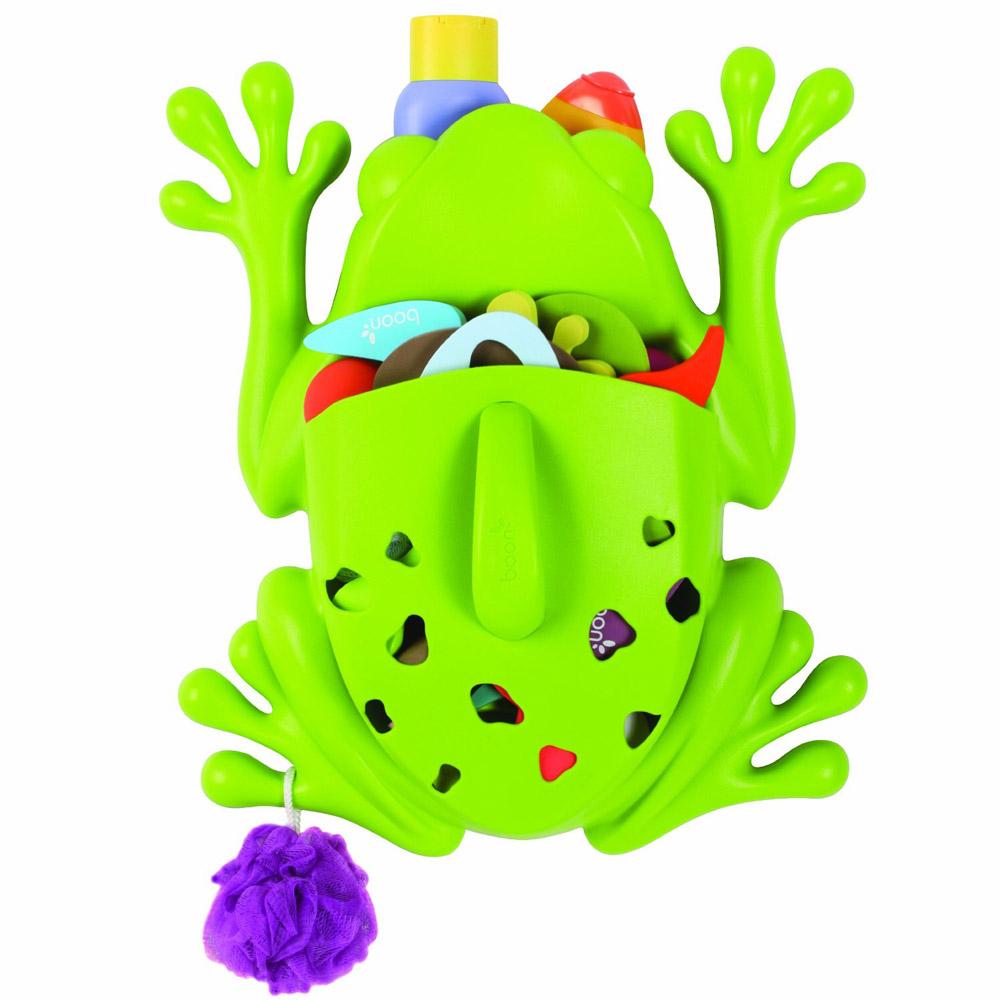 Лягушка для хранения детских игрушек в ванной