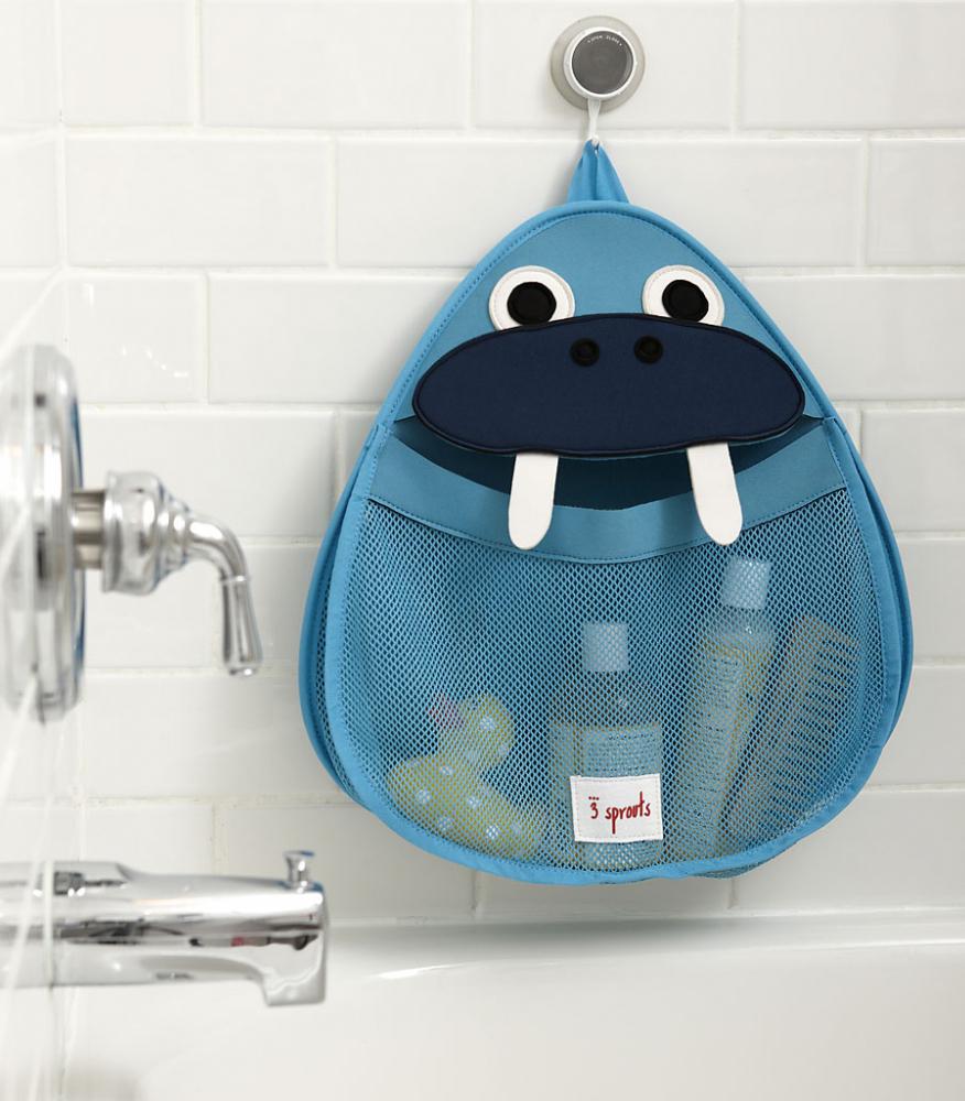 Тканевая корзинка для хранения в ванной
