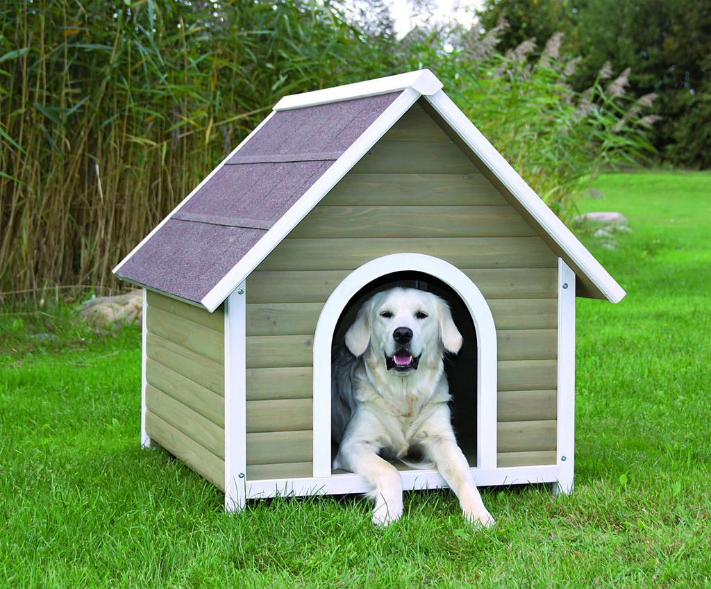 Будка для собаки (53 фото): требуемые материалы и красивые дизайны