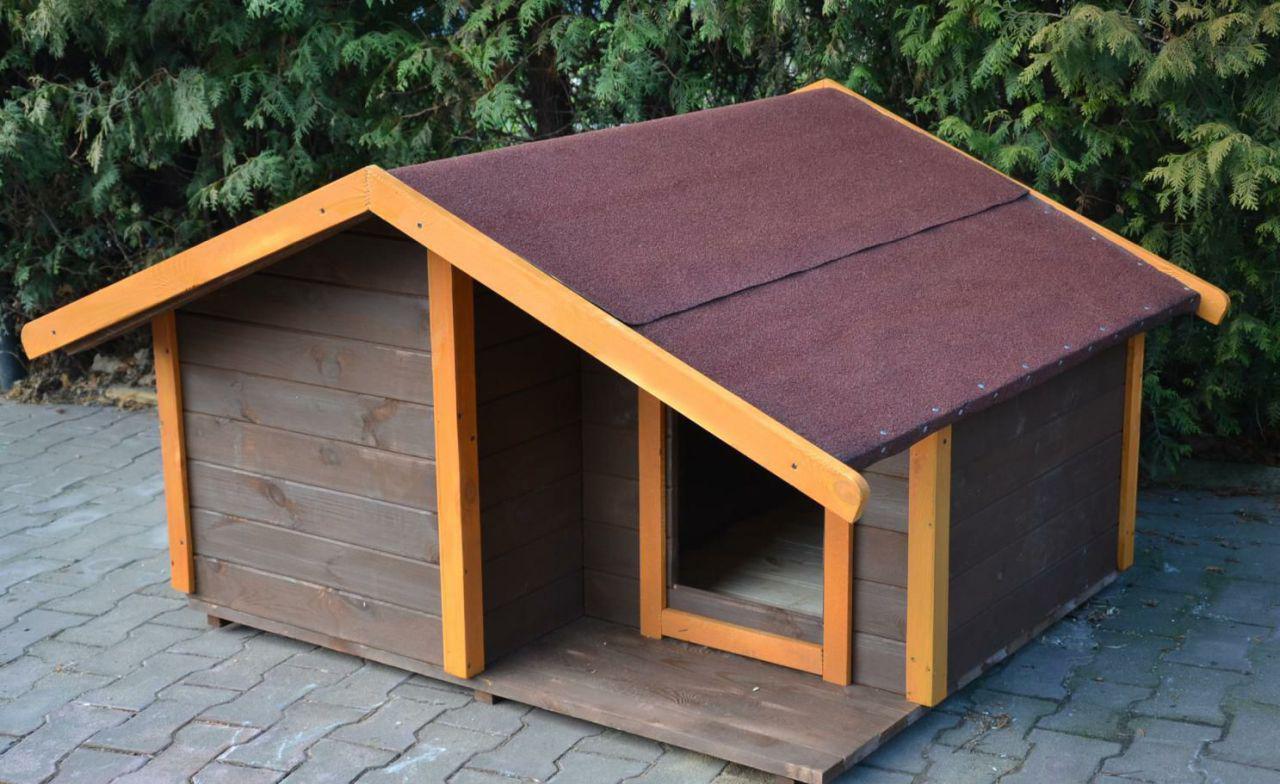Большая будка для собаки