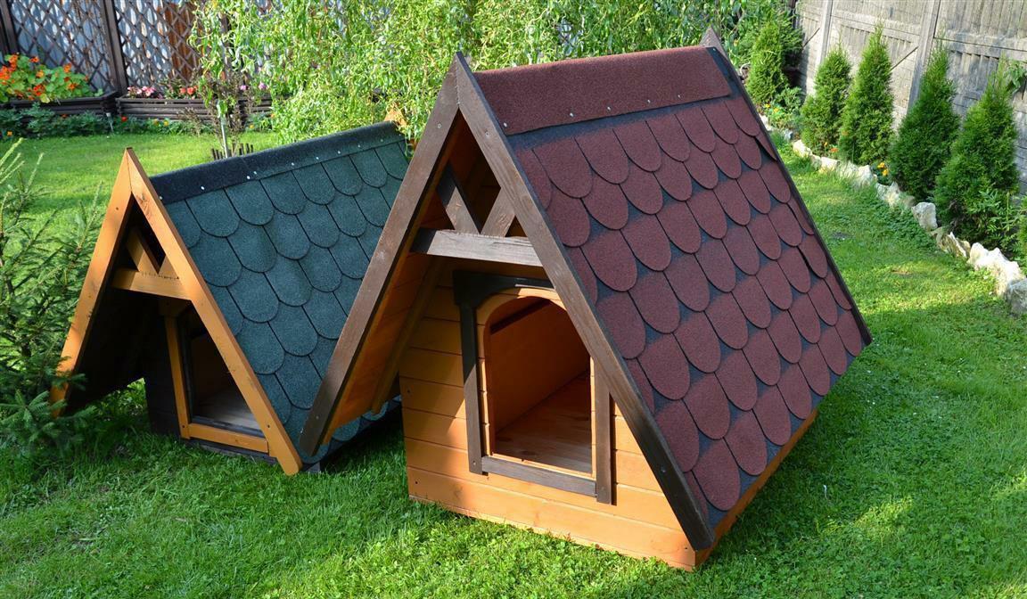 Оригинальные будки для собак