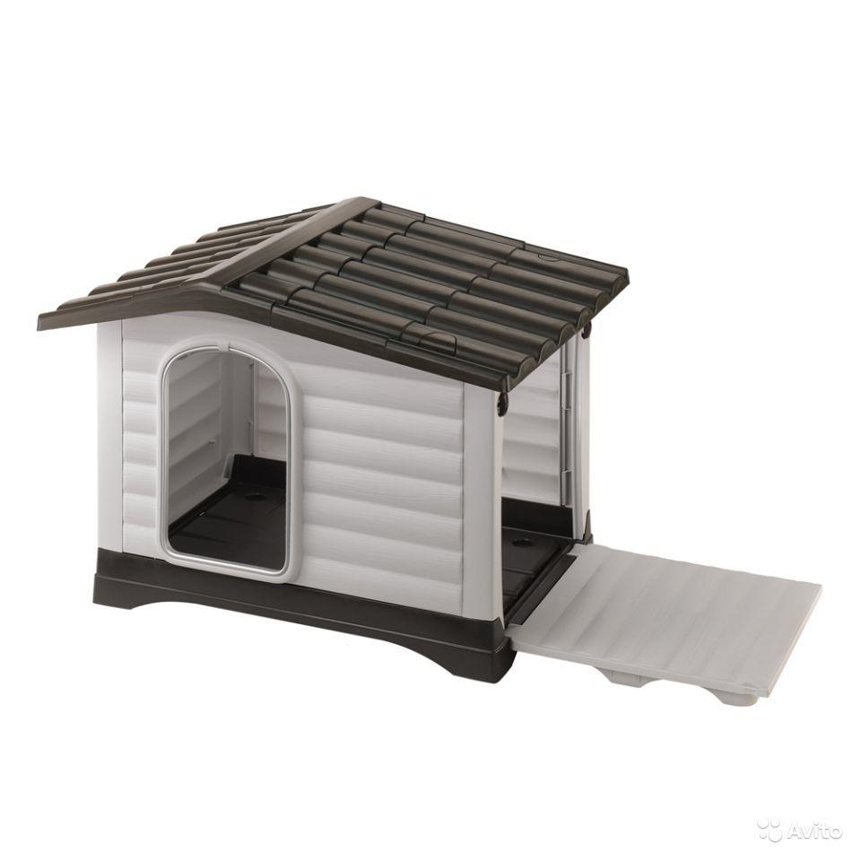 Пластиковая будка для собаки