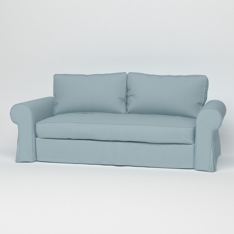 Мятный чехол на диван