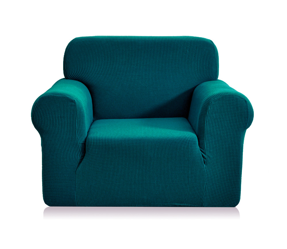 Изумрудный чехол на кресло