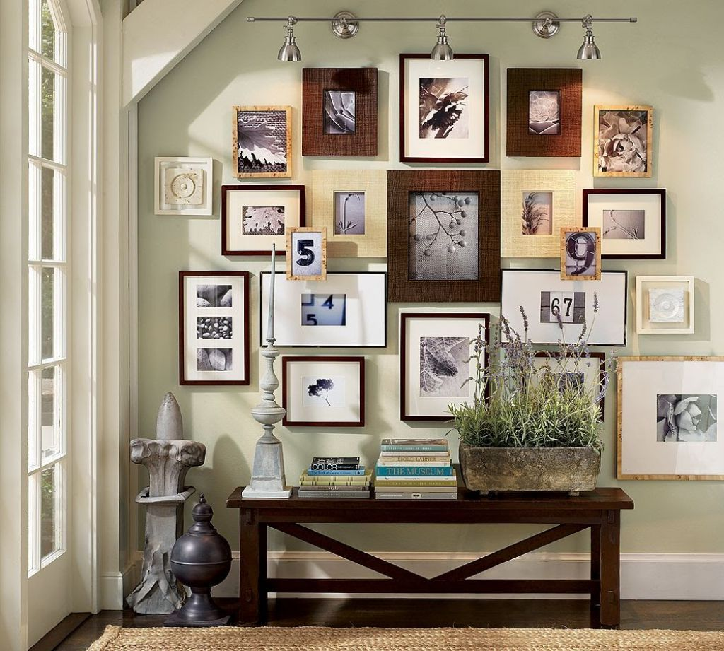 Фото в декоре стен