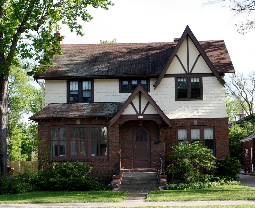 Деревенский дом в немецком стиле
