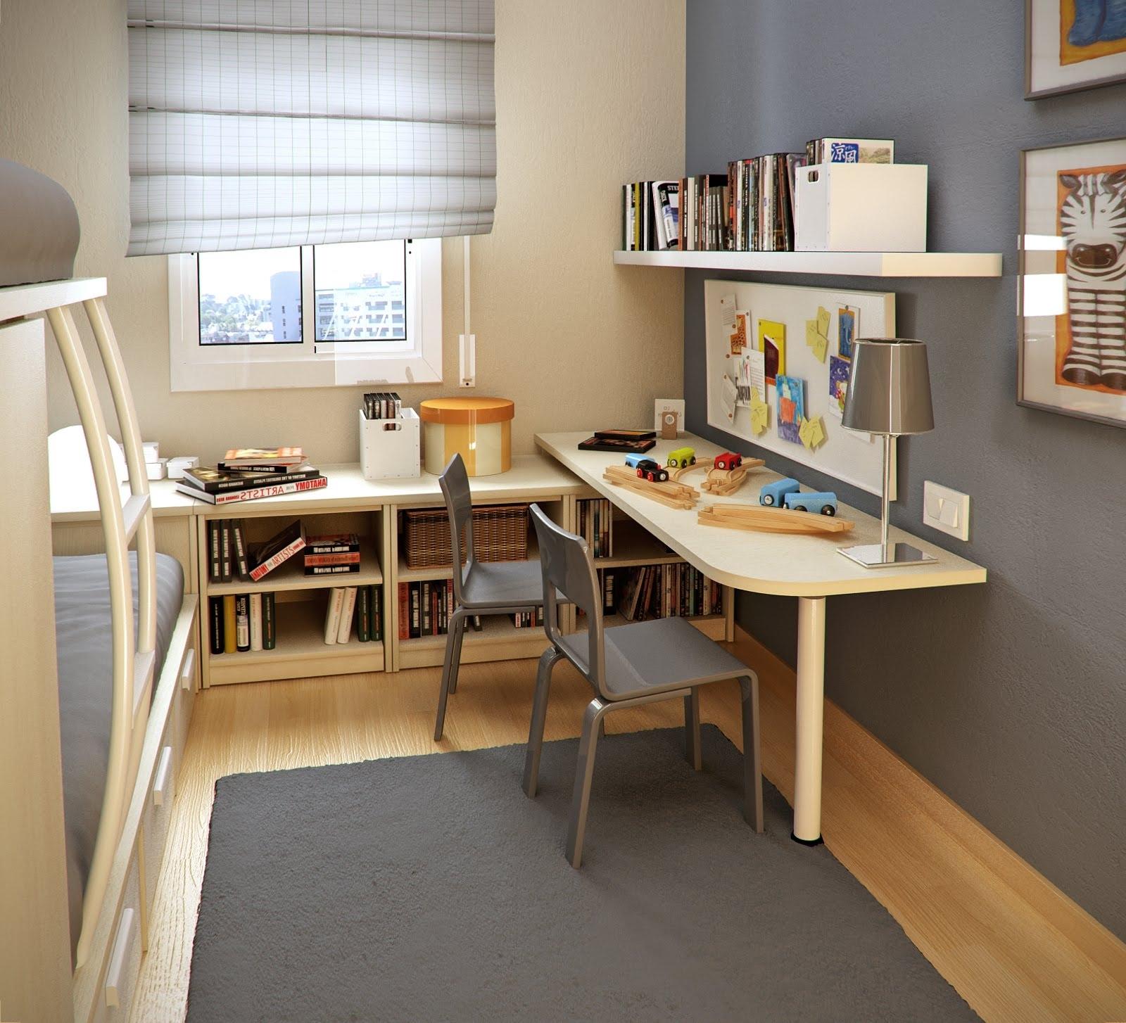 Учебный деревянный уголок для школьника