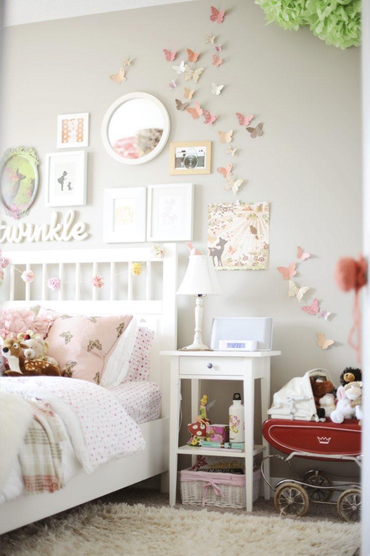 Бабочки для декора в детской