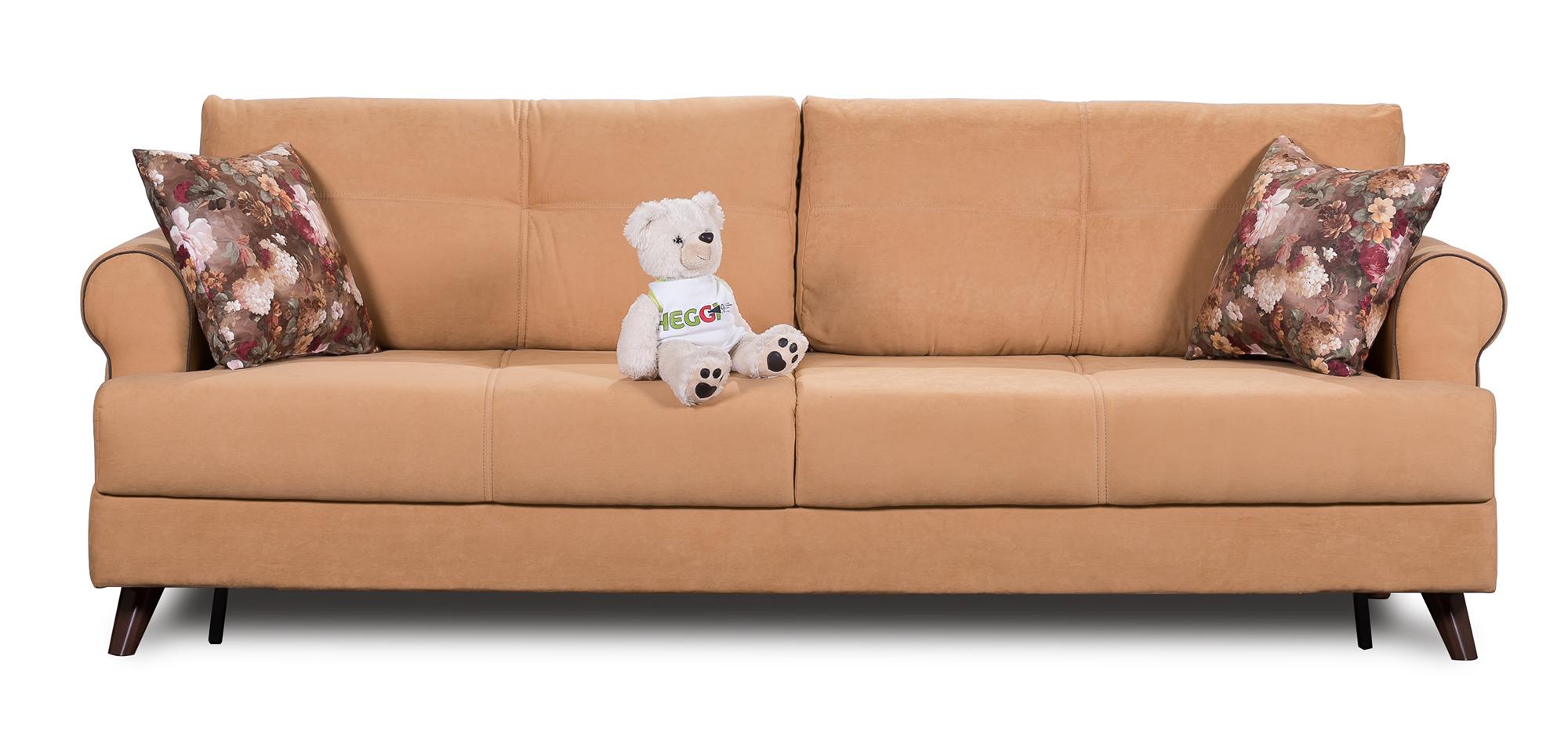Персиковый диван еврокнижка