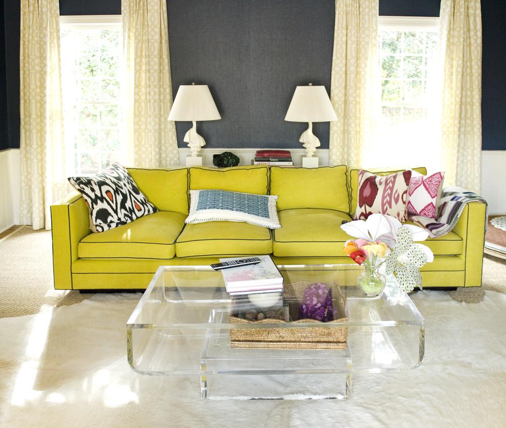 Желтый диван еврокнижка
