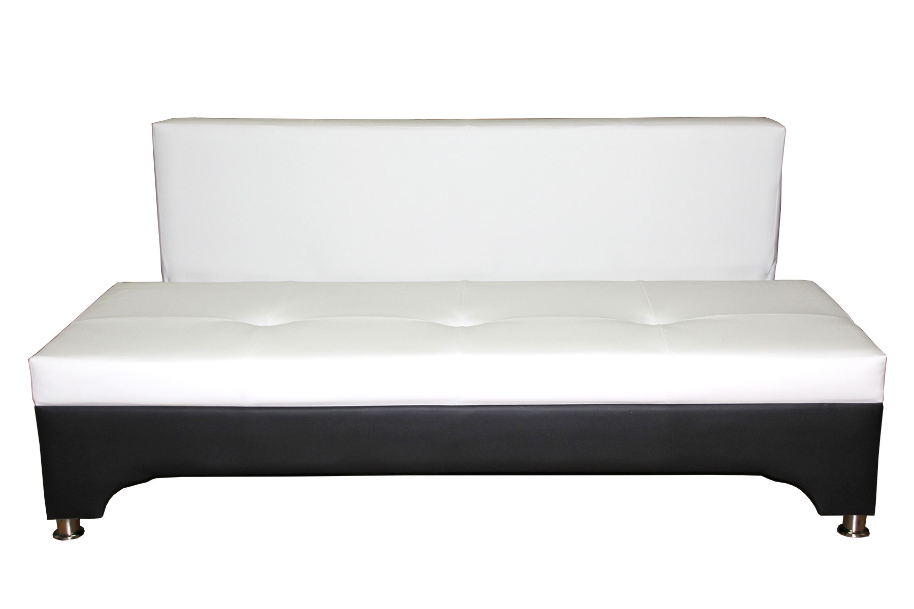 Бело-черный диван еврокнижка