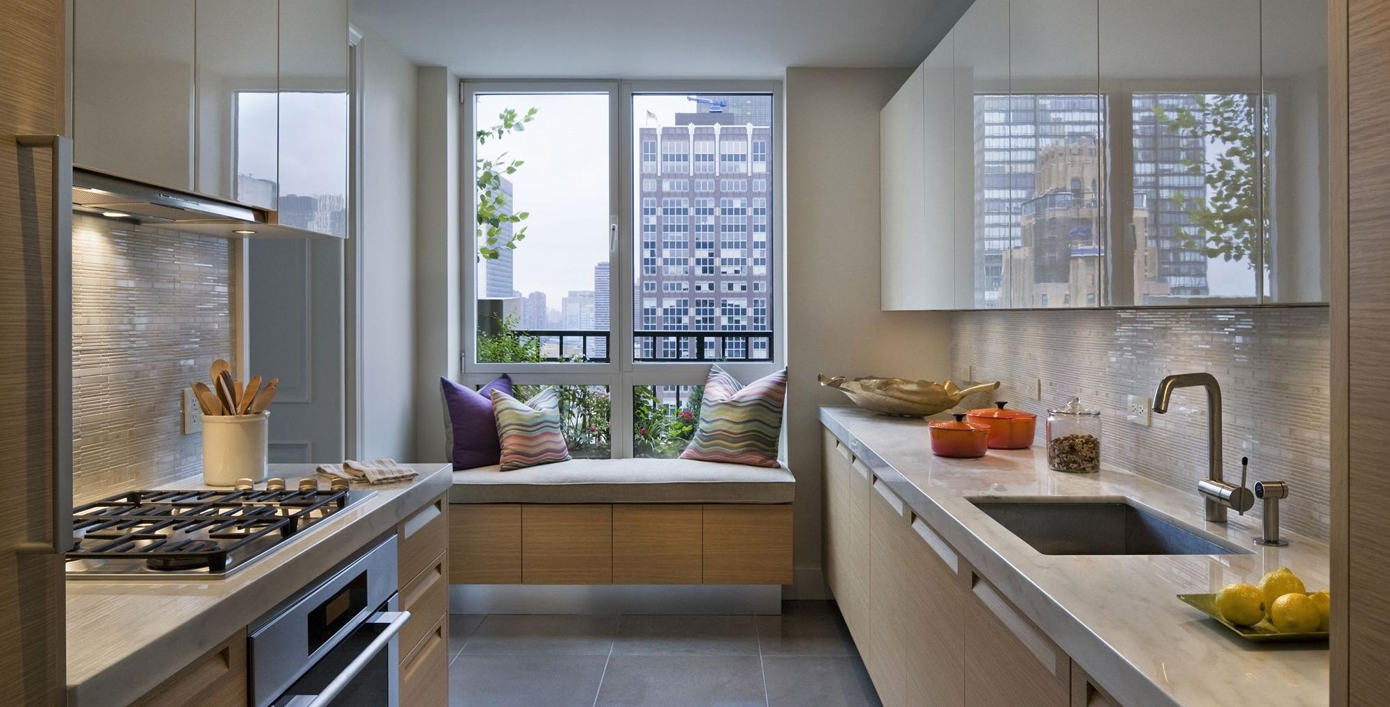 Дизайн кухни с местом для отдыха