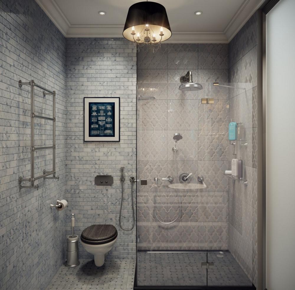 Керамическая плитка в оформлении ванной комнаты