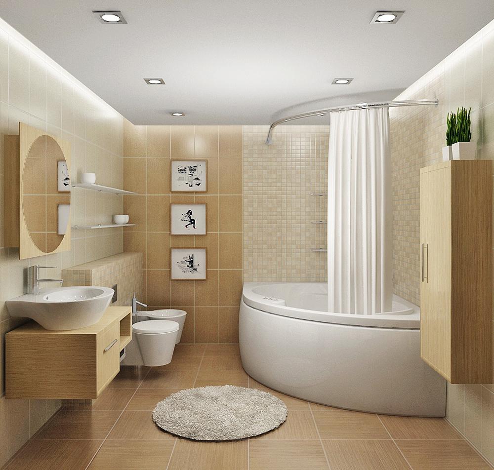 Ремонт ванной комнаты под ключ с материалами фото цены