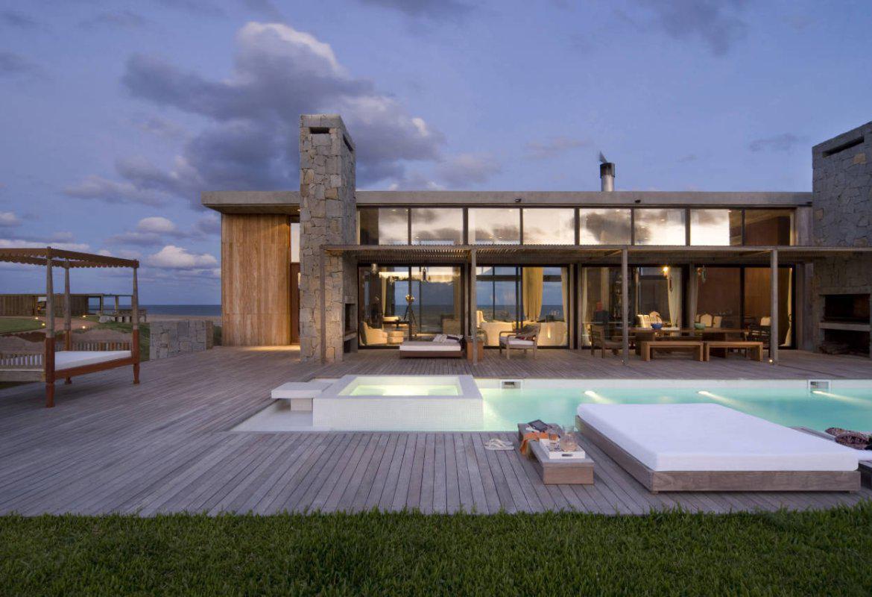 Стильный дом модерн