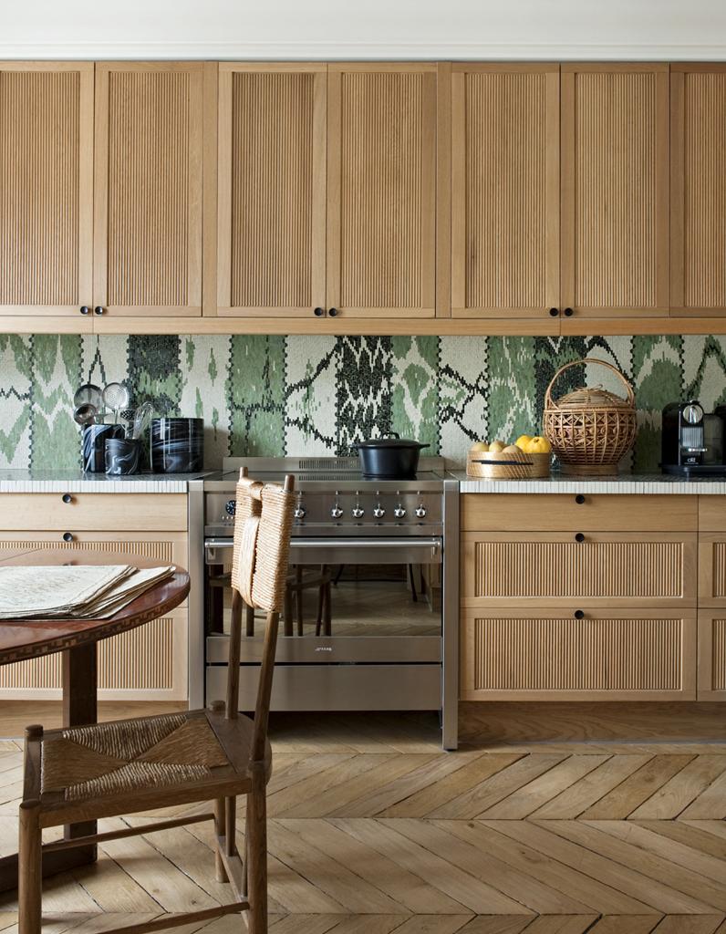 Дизайн кухни 20 кв м в стиле эко