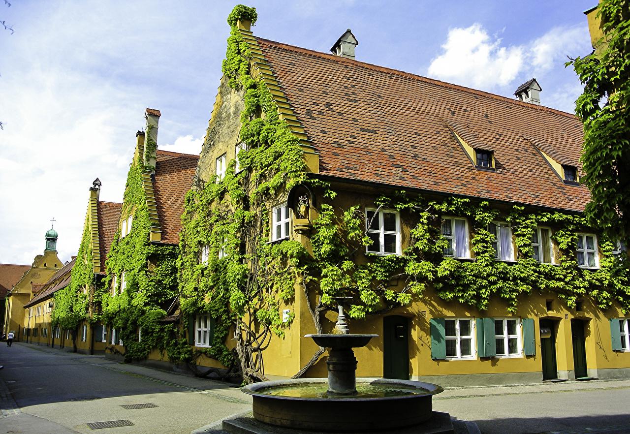 Фасад немецкого дома