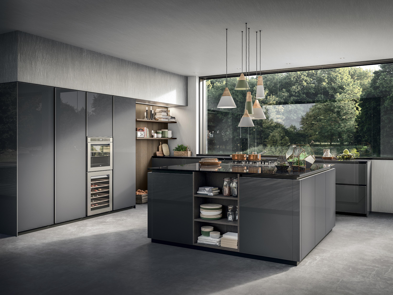 Дизайн кухни 20 кв м глянцевый