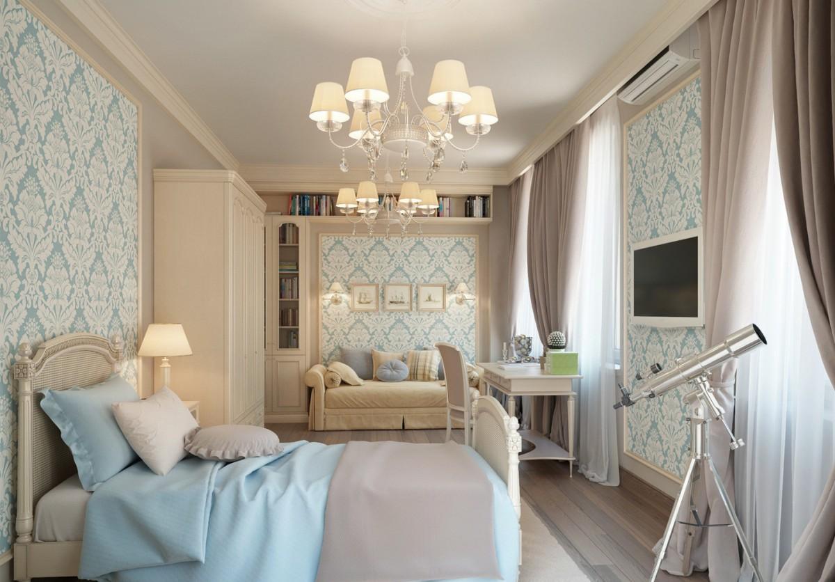 Мебель в стиле кантри в спальне