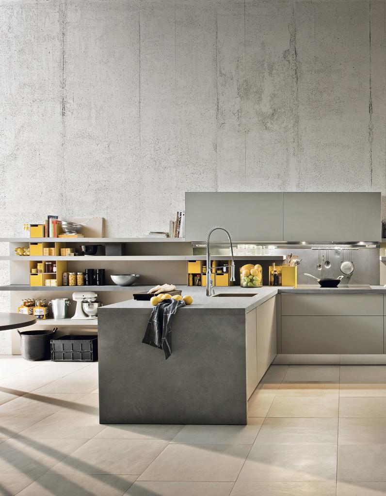 Дизайн кухни 20 кв м индустриальный