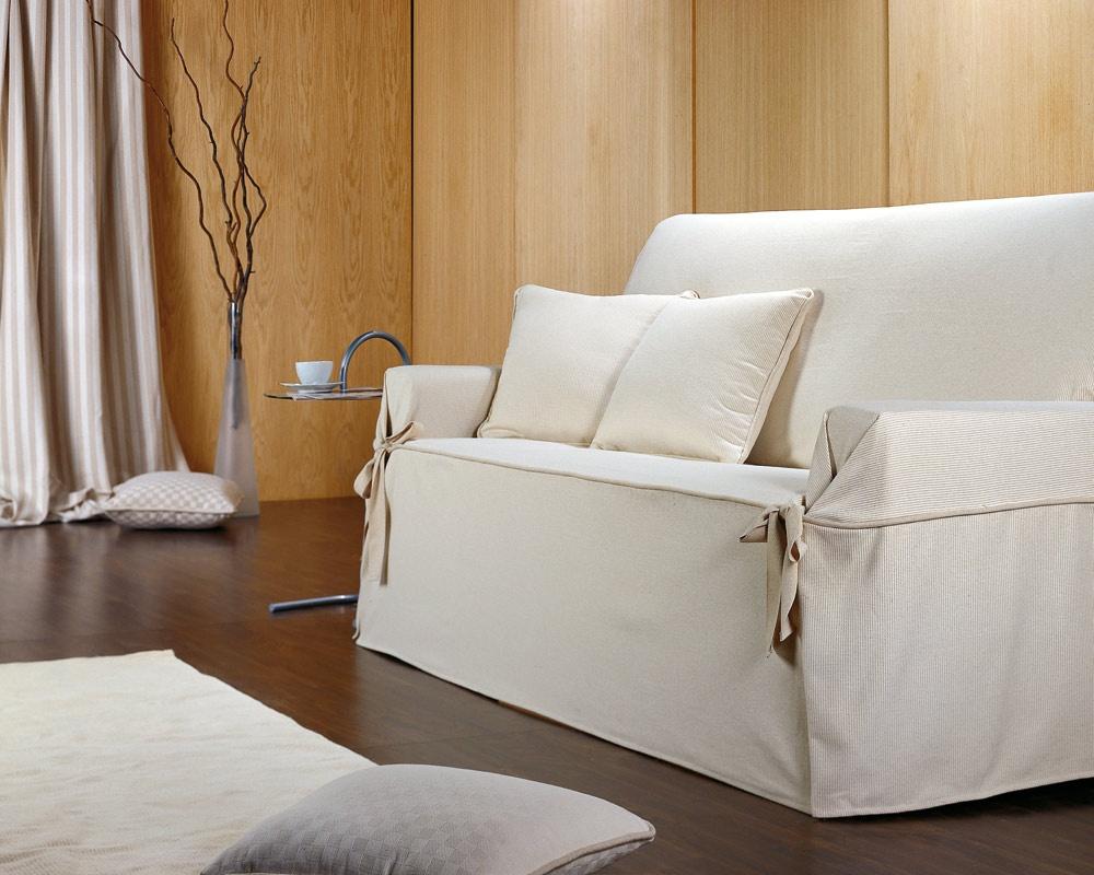 Чехол на диван в интерьере