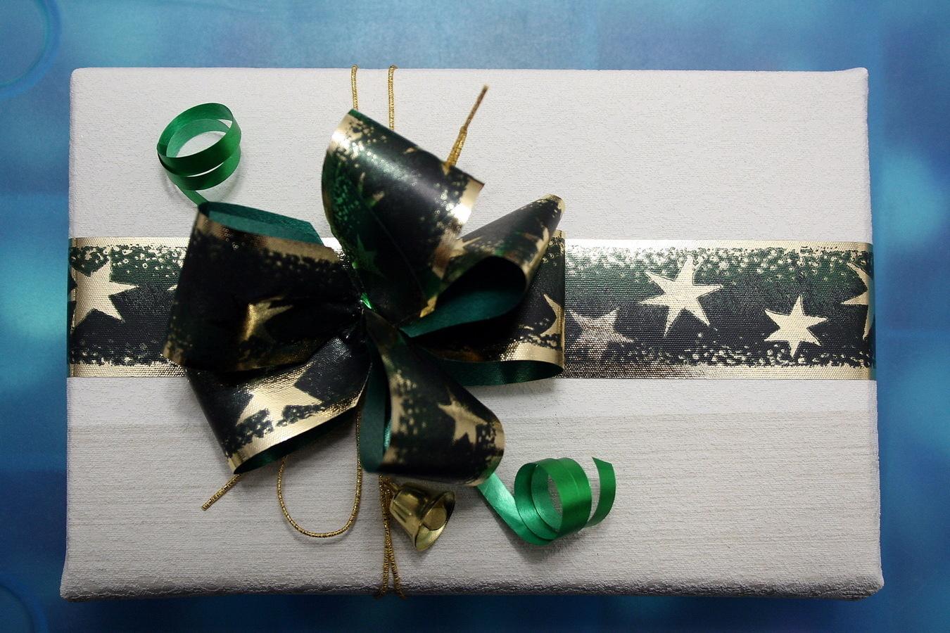 Пример упаковки подарка для мужчины