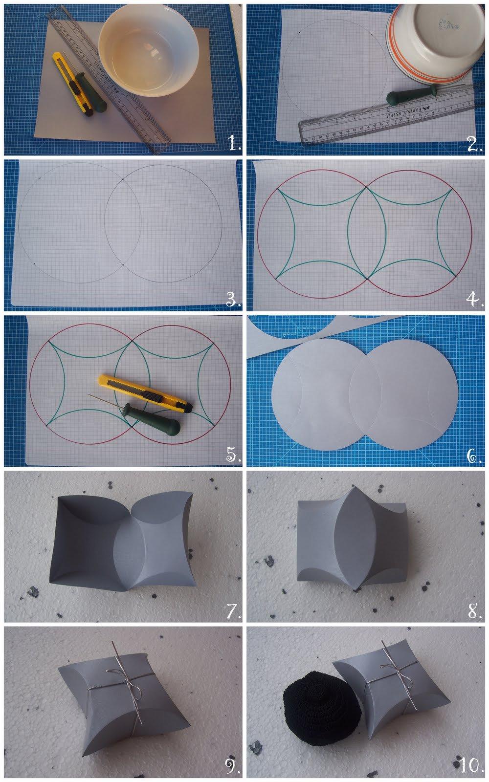 Как сделать подарочную коробочку из картона