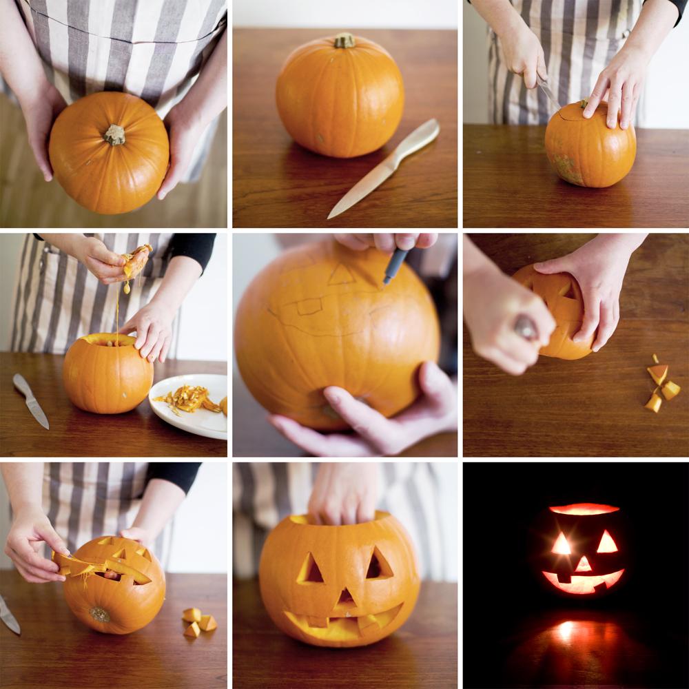 Инструкция создания тыквы на Хэллоуин своими руками