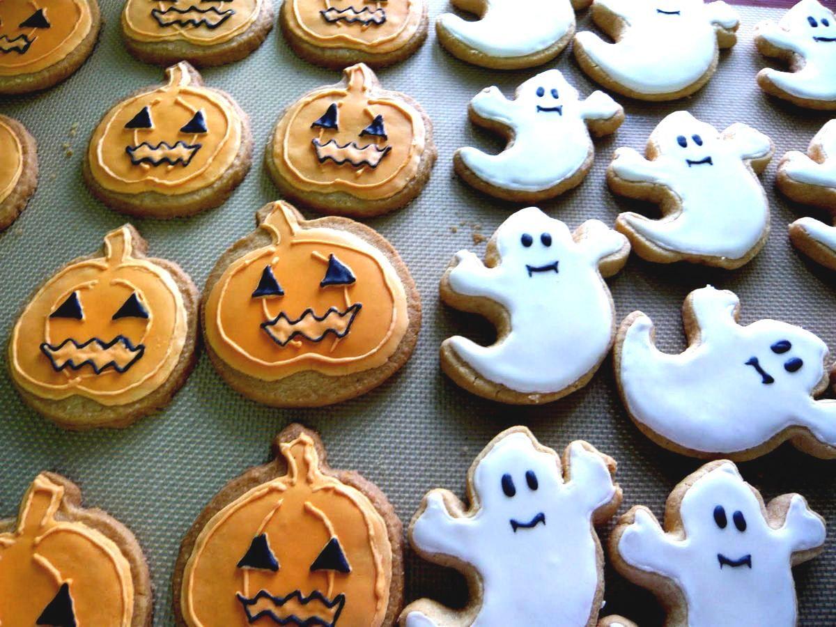 Печенье для Хэллоуина
