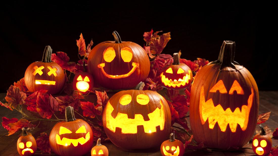 Варианты вырезания тыквы на Хэллоуин