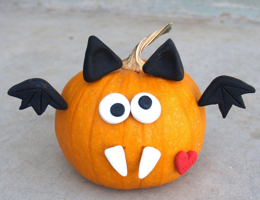 Праздничная тыква на Хэллоуин
