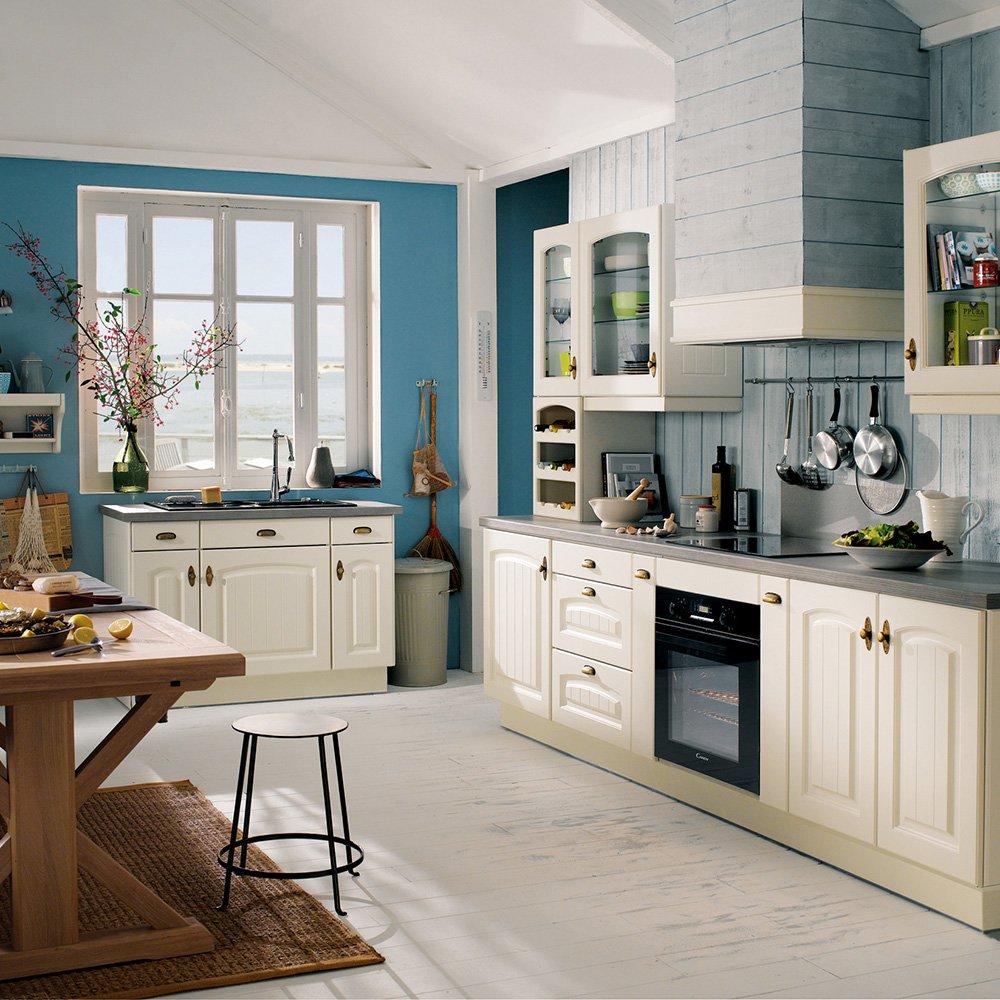 Дизайн кухни 20 кв м кантри