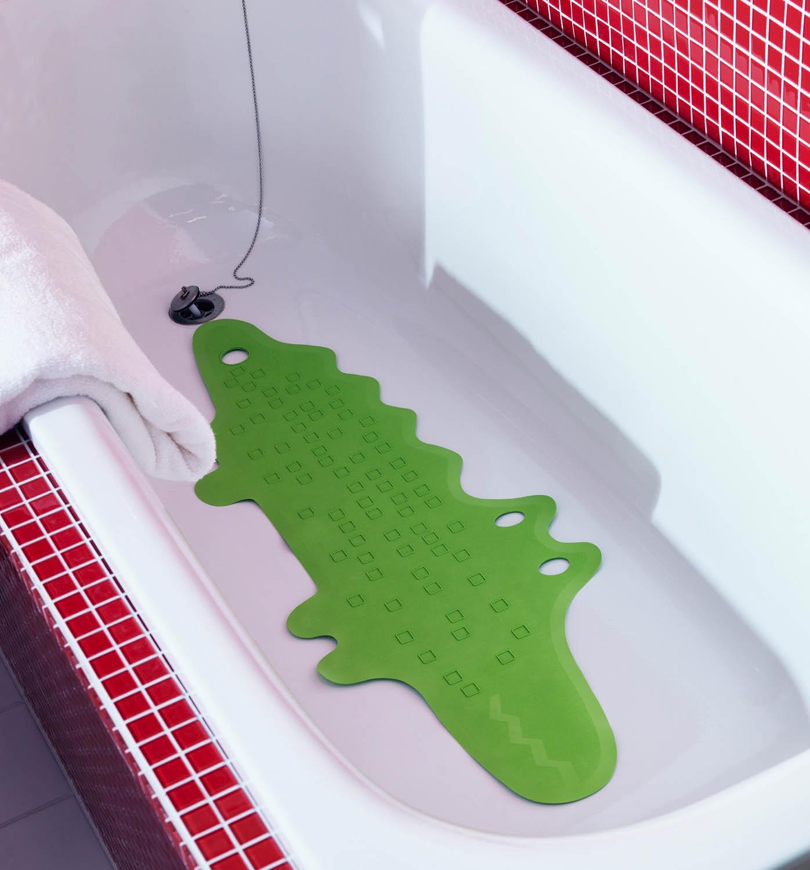 Резиновый противоскользящий коврик в ванную