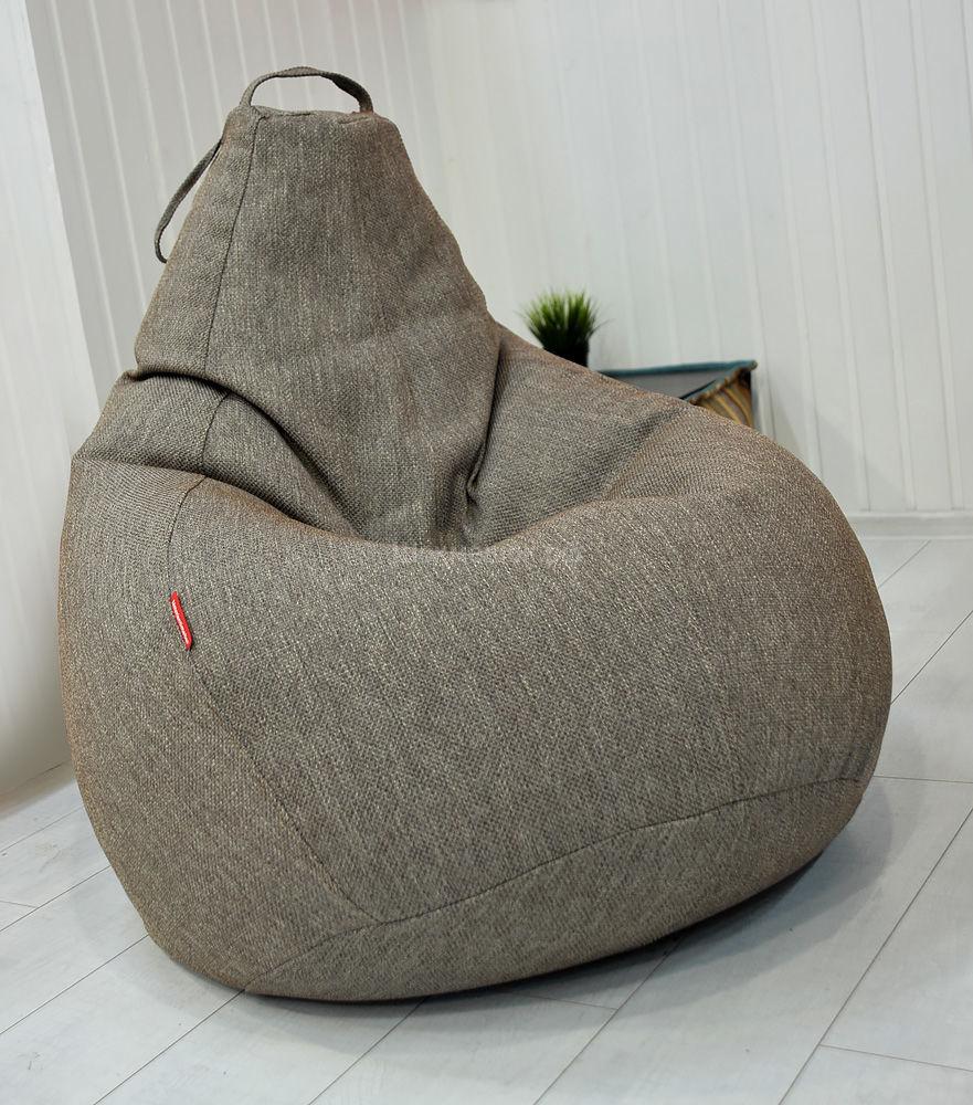 Серое кресло-мешок