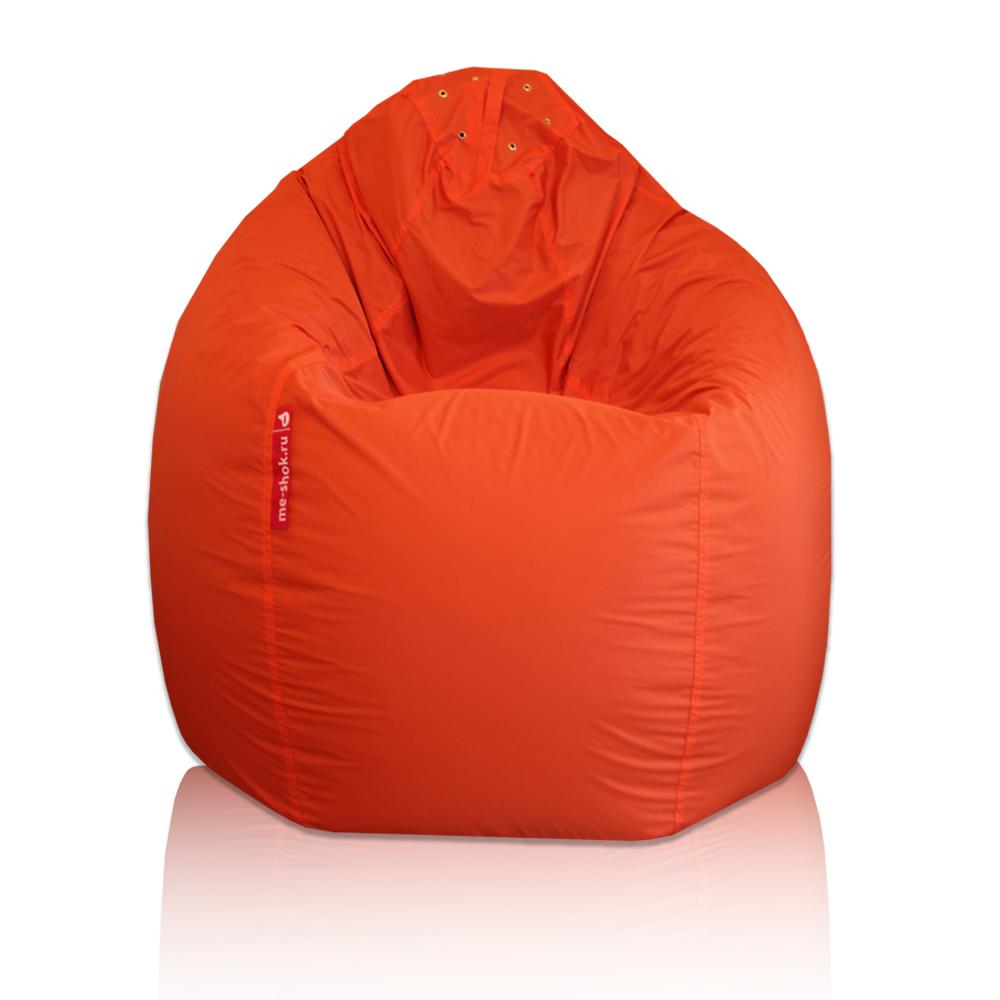 Красное кресло-мешок