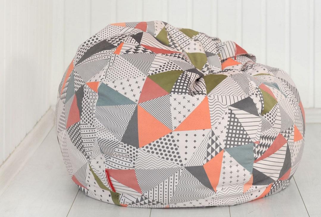 Кресло-мешок с красивым чехлом