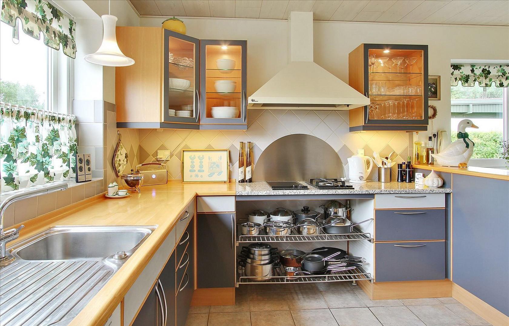 Кухня в частном доме по фэн-шуй