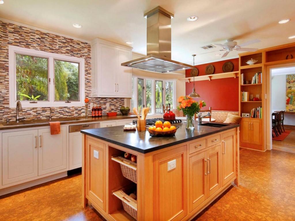 Стильная кухня с островом