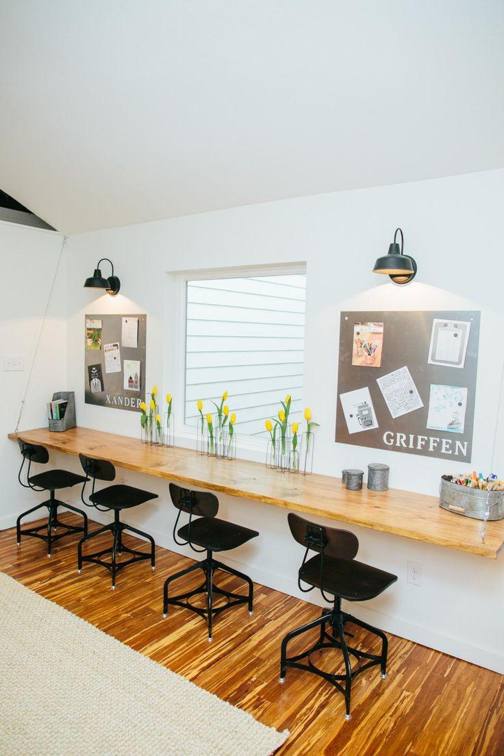 Детская комната школьника в стиле лофт