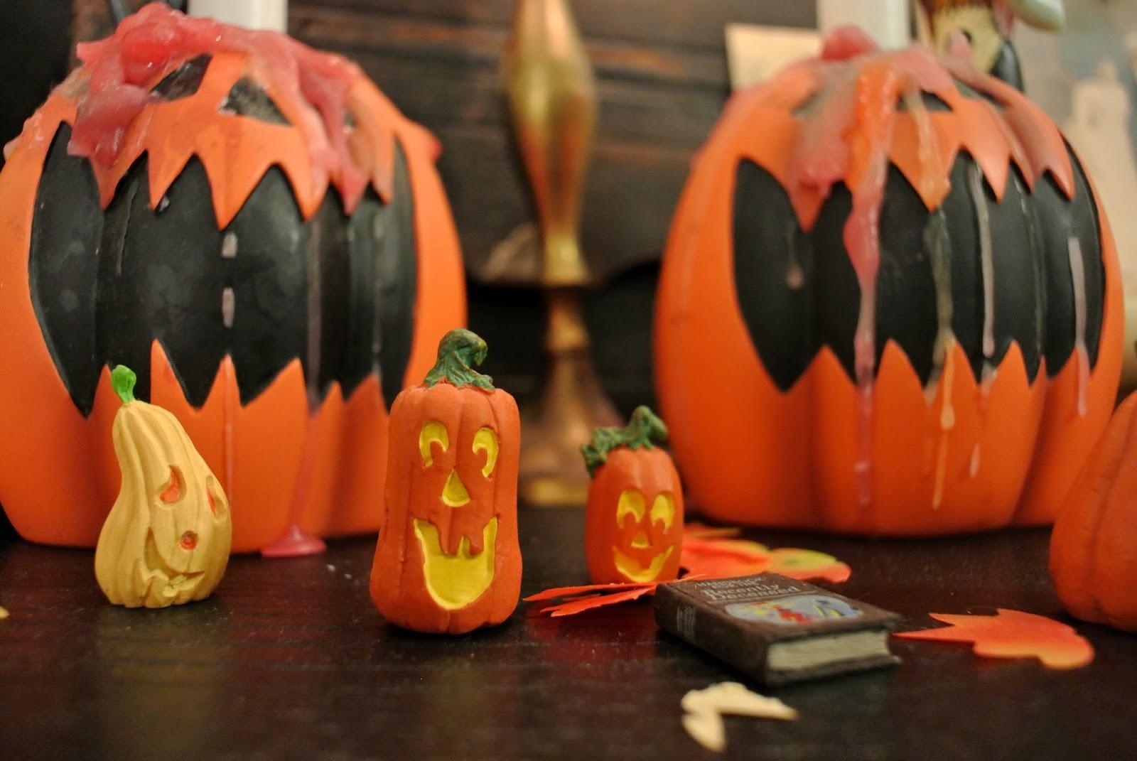 Маленькие тыквы на хэллоуин